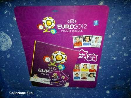 Album Blister calcio Europei 2012 Panini