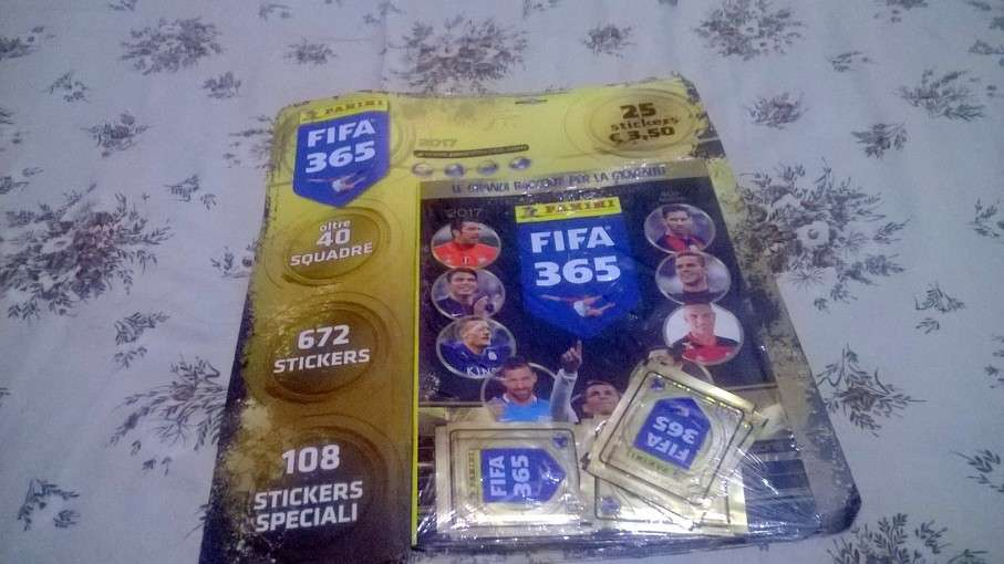 Album Blister calcio FIFA 365 2017