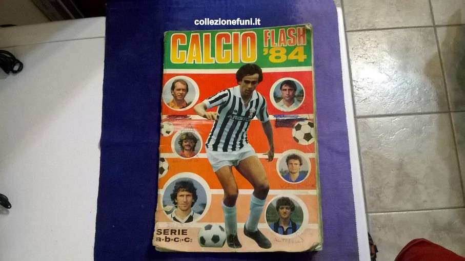 Album Calcio Flash '84 Lampo incompl.