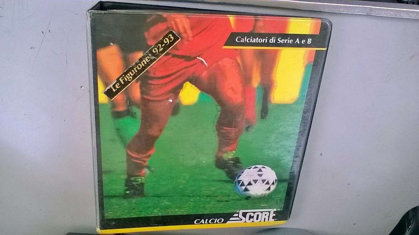 Album Calcio Score Card 1992-93 incompl.