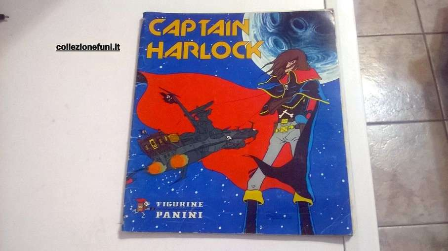 Album Captain Harlock Panini 1979 incompl.