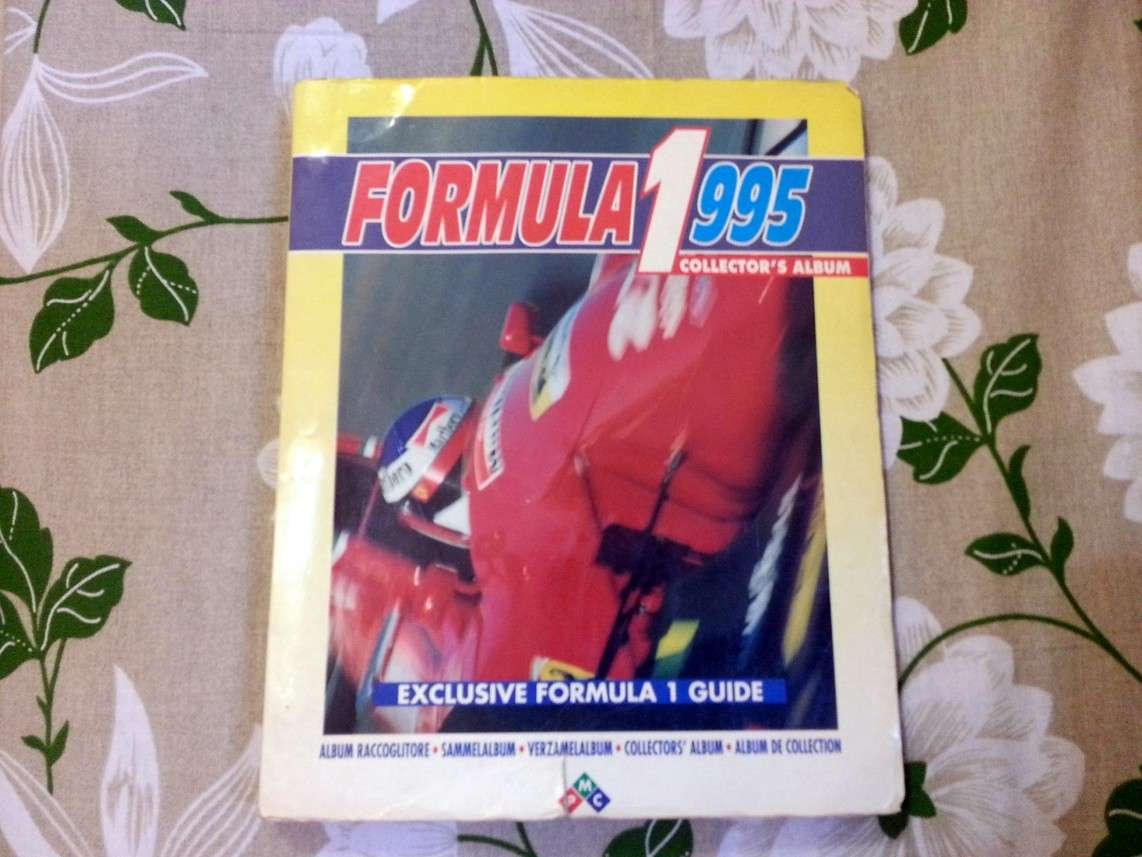 Album Formula 1 1995 ediz. PMC incompl.