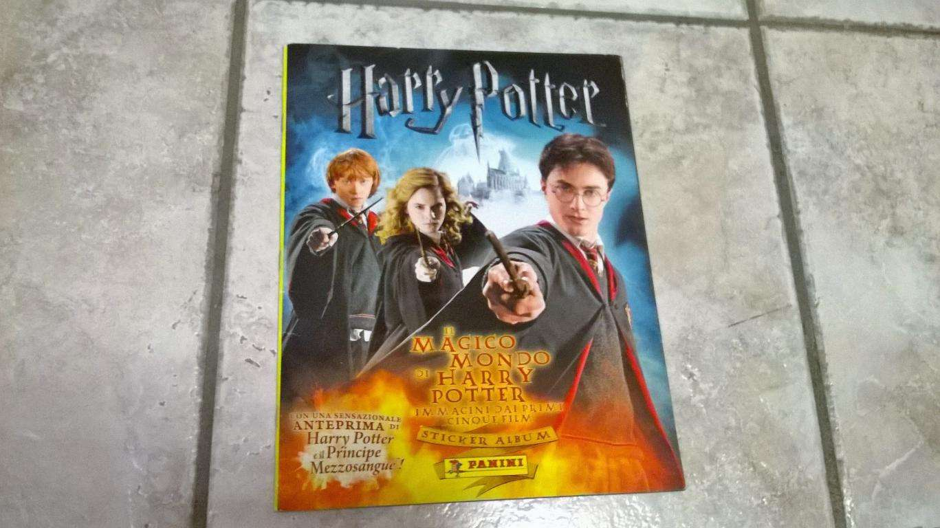 Album Harry Potter Il Magico Mondo 2008 vuoto