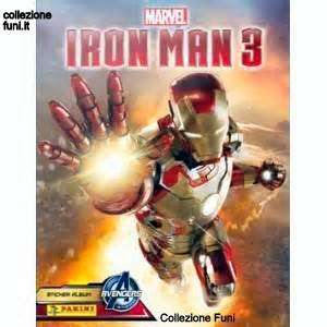 Album Iron Man 3 Panini 2013 incompl.