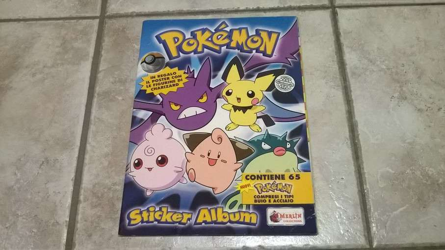 Album Pokemon Merlin 2001 incompl.