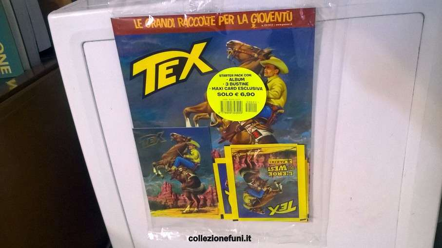 Album Tex Willer - Panini 2015 incompl.