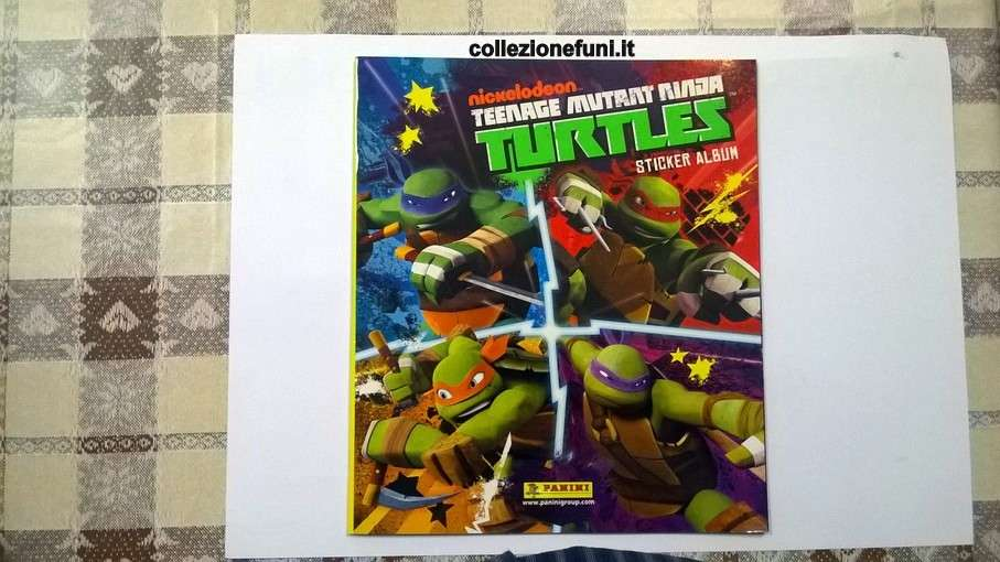 Album Turtles. Panini 2014 incompl.