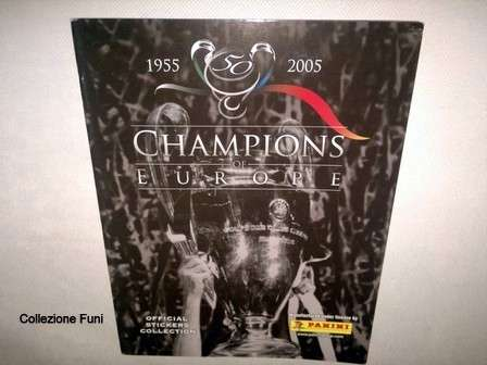 Album c Champions League 1955-2005 completo