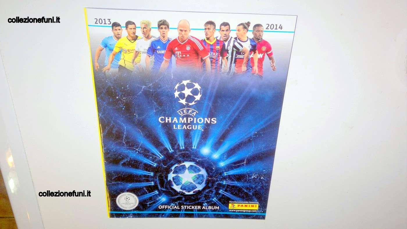 Album c Champions League 2013-14 completo