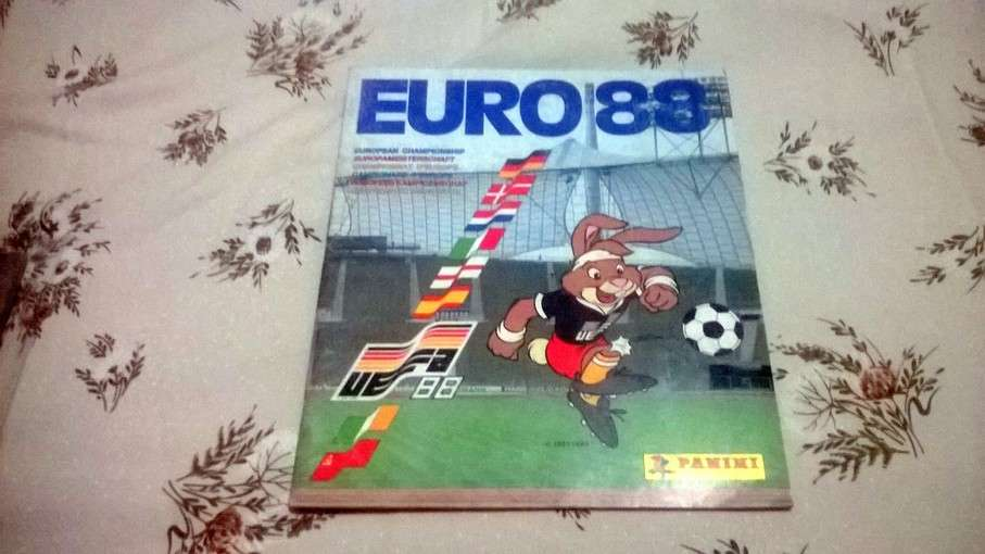 Album c Euro 1988 Germania incompl. 80%