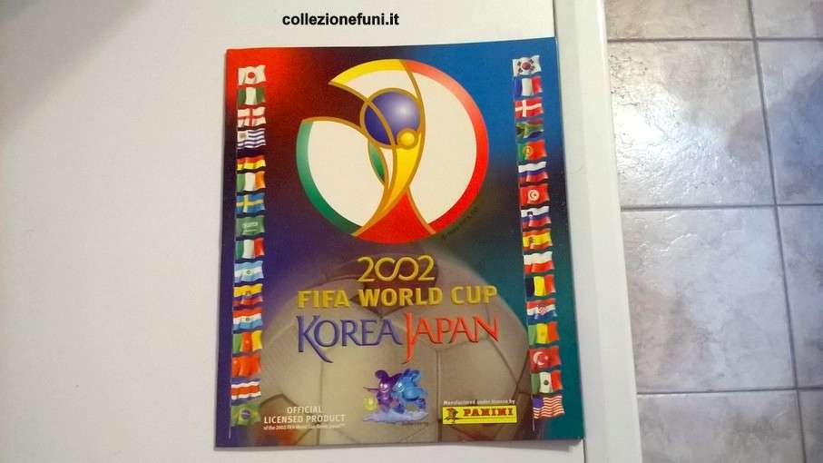 Album c Mondiali 2002 Korea-Japan completo