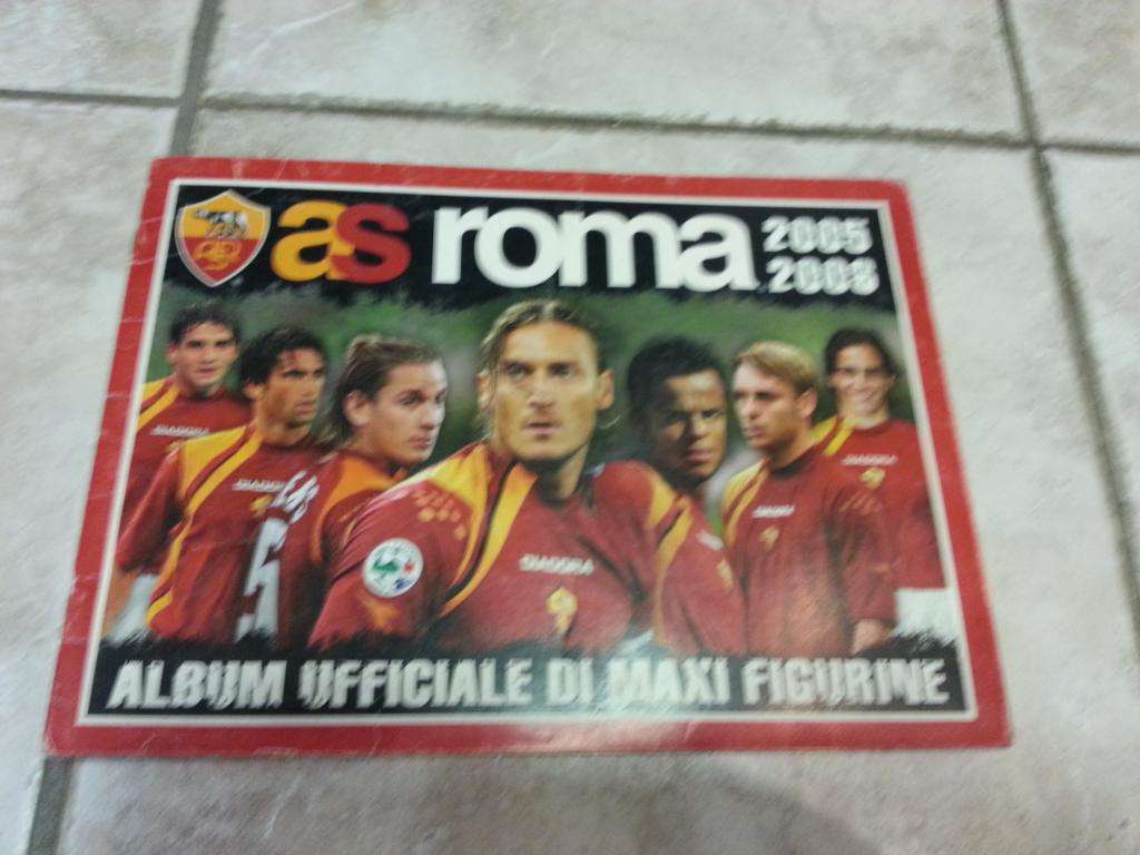 Album calcio Roma 2005-06  incompl.