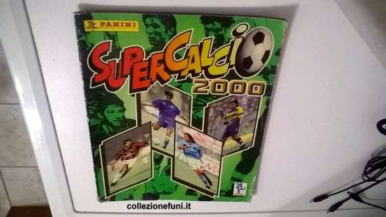 Album calcio Super Calcio 2000 incompl.