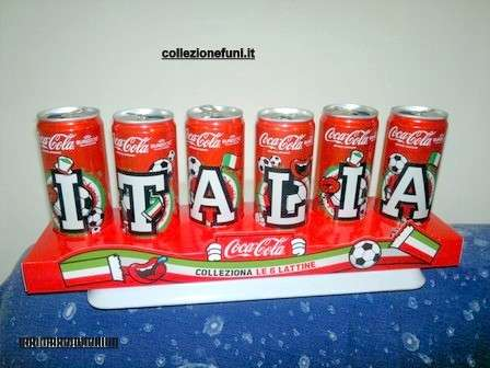 Coca Cola supporto lattine Euro 2012