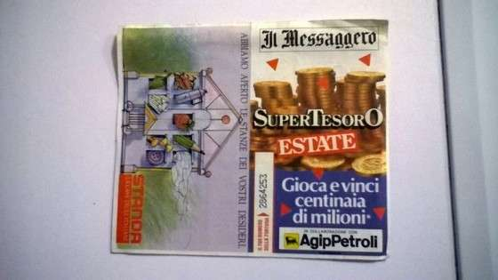 Giochi Il Messagero Agip SuperTesoro Estate